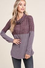 Load image into Gallery viewer, Spice of Life Cowl Neck (Plum)