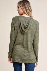 Currently Trending Hoodie (Moss)