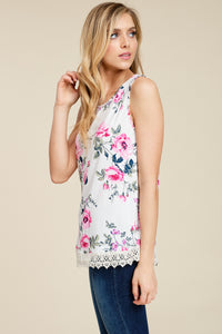 In Love and Lace Tank