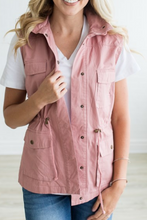 Load image into Gallery viewer, Always a Classic Utility Vest (Mauve)