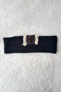 Adoringly Yours Ear Warmer (Black)