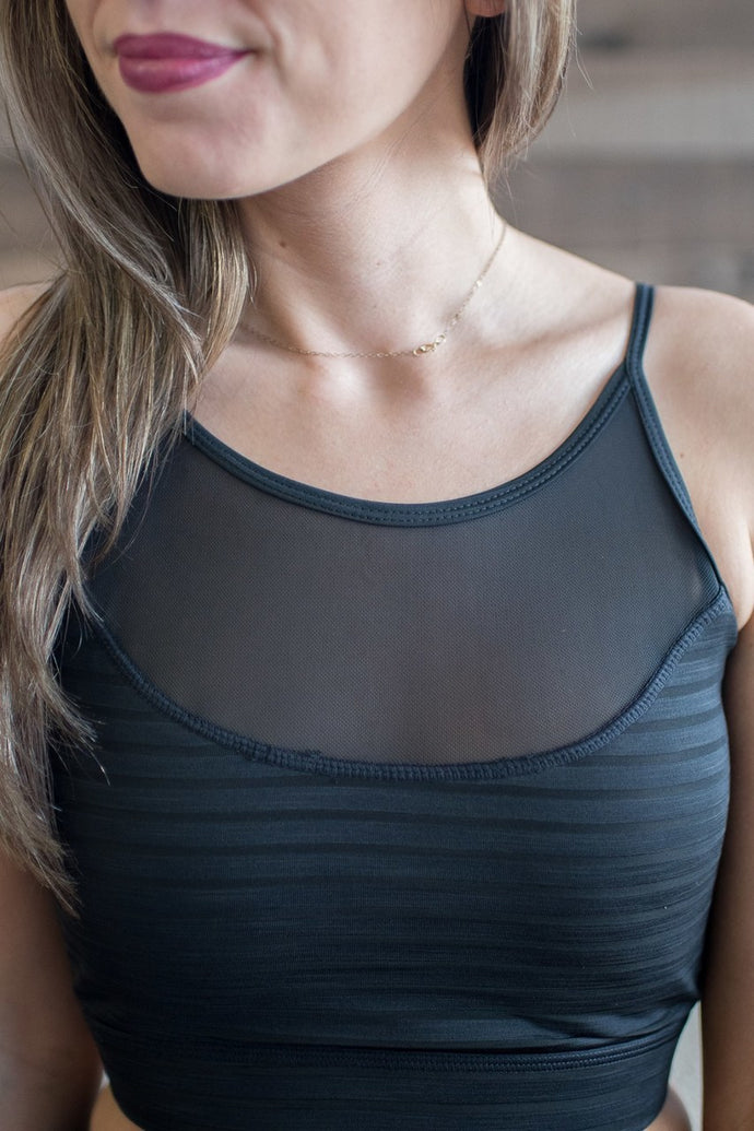 See Right Through Me Sports Bra