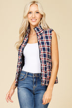 Load image into Gallery viewer, So Plaid You're Mine Vest