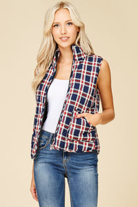 So Plaid You're Mine Vest