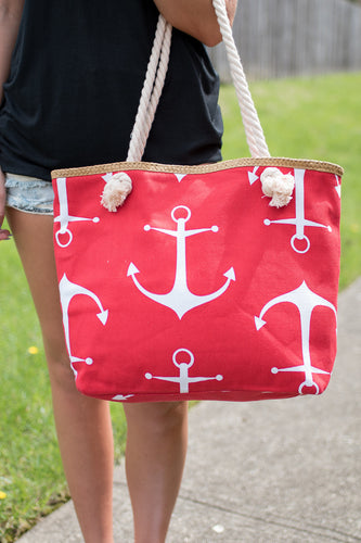 Set Free Tote (Red)