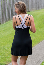 Load image into Gallery viewer, Back to Basics Dress (Black)