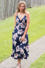 Load image into Gallery viewer, Summer Dream Dress (Navy)