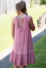 Load image into Gallery viewer, Livin' On The Edge Dress (Rose)