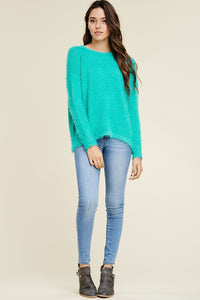 Warmest Embrace Sweater (Jade)