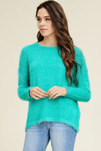 Load image into Gallery viewer, Warmest Embrace Sweater (Jade)