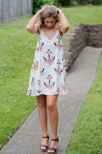 Anchored to You Dress