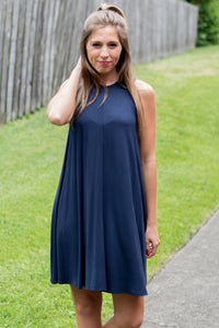 So Lovely Dress (Navy)