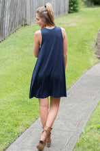 Load image into Gallery viewer, So Lovely Dress (Navy)