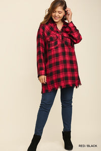 Bonfire Material Tunic (Red)