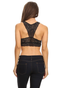 Make a Statement Bralette (Black)