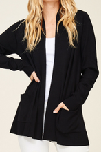 Load image into Gallery viewer, Everyday Wear Cardi (Black)