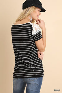 Treasured Memory Top (Black)