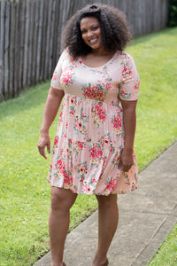 Sway My Way Dress (Peach)