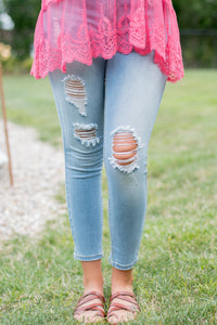 On the Boardwalk Jeans (Light Denim)