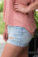 Load image into Gallery viewer, Sandy Shore Shorts (Light Denim)