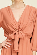 Load image into Gallery viewer, Chic and Classic Dress (Salmon)