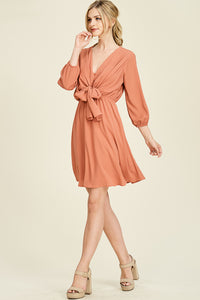 Chic and Classic Dress (Salmon)
