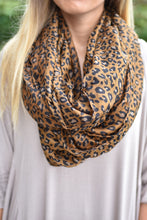 Load image into Gallery viewer, Fierce and Fabulous Scarf (Brown)