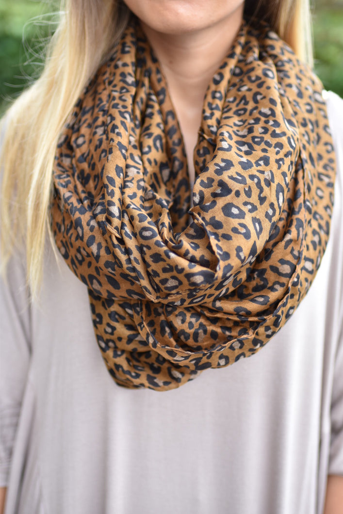 Fierce and Fabulous Scarf (Brown)
