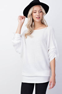 Run Away with Me Top (White)