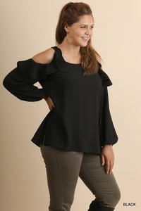 A Touch of Sass Blouse (Multiple Colors)