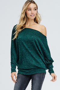 Bare a Little Shoulder (Green)