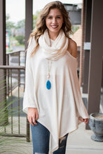 Load image into Gallery viewer, Sweet Time Poncho (Ivory)