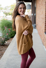 Load image into Gallery viewer, Study Hall Cardi (Camel)
