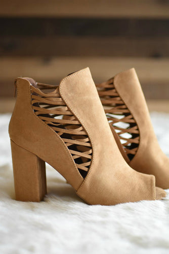 Best Foot Forward Booties (Camel)