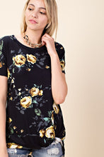 Load image into Gallery viewer, Ring Around the Rose-y Tee (Curvy +)
