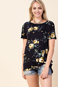 Ring Around the Rose-y Tee (Curvy +)