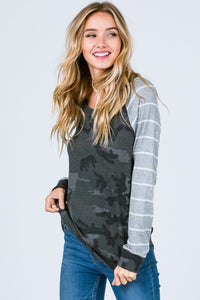 Weekend Hide Out Raglan Top