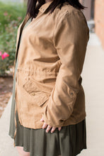 Load image into Gallery viewer, She's Glamorous Jacket (Camel)