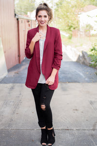 Run the Show Blazer (Multiple Colors)