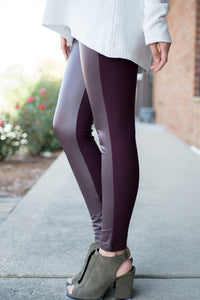 All That and Then Some Leggings (Burgundy)