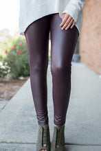 Load image into Gallery viewer, All That and Then Some Leggings (Burgundy)
