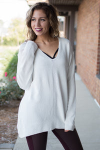Too Honest Sweater (Ivory)