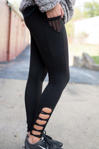 Run to Me Workout Pants (Black)