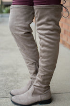 Load image into Gallery viewer, Walk Beside Me Knee High Boots (Taupe)