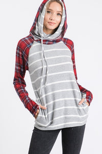 Warmest Embrace Double Hood (Grey)