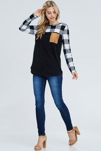 Mad for Plaid Long Sleeve (Black)
