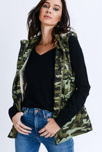 Load image into Gallery viewer, Marching On Fur Lined Vest (Camo)