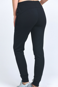Just Act Natural Joggers (Black)