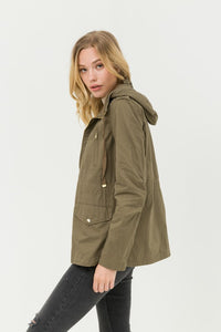 Ready for Anything Utility Jacket (Olive)