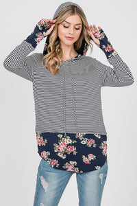 Wander Along Hooded Top